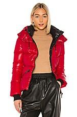 Mackage Madalyn Puffer Jacket in Red