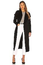 Mackage Mai Trench Coat in Black