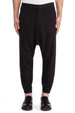 Pathan Sweatpant in Black