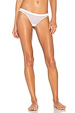 MAISON CLOSE Pure Tentation Thong in White