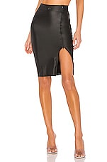 MAISON CLOSE Jupe Skirt in Black