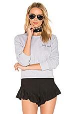 Rebel Rebel Sweatshirt in Heather Grey