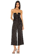MAJORELLE Naomi Jumpsuit in Black
