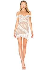 MAJORELLE Bandit Dress in White