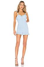 MAJORELLE Mirabelle Dress in Bluebird
