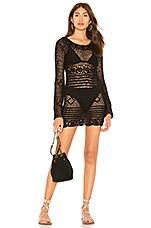 MAJORELLE Lucy Dress in Black
