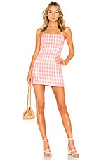 MAJORELLE Pearson Dress in Baby Girl Pink