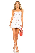 MAJORELLE Pearson Dress in Cherry