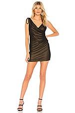 MAJORELLE Juliet Mini Dress in Black