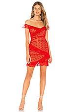 MAJORELLE Bandit Dress in Red