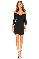 MAJORELLE Cypress Dress in Black