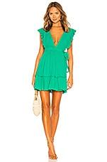 MAJORELLE Misty Dress in Kelly Green