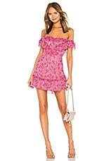 MAJORELLE Grace Mini Dress in Pink Baybreeze