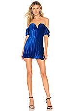 MAJORELLE Skylar Dress in Cobalt Blue