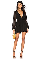 MAJORELLE Berkshire Dress in Black