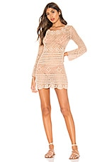 MAJORELLE Lucy Dress in Sand