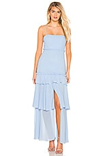 MAJORELLE Queenie Gown in Baby Blue