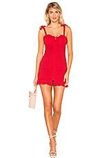 MAJORELLE Mirabelle Dress in Red