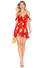 MAJORELLE Salsa Dress in Red Candy Apple