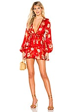 MAJORELLE Berkshire Dress in Red Candy Apple