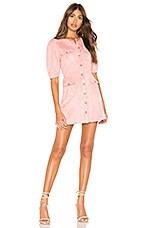 MAJORELLE Bennett Mini Dress in Pink Mauve