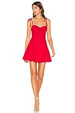 MAJORELLE Tahoe Dress in Red