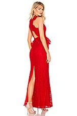 MAJORELLE Elizabeth Gown in Red
