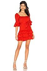 MAJORELLE Olin Dress in Red