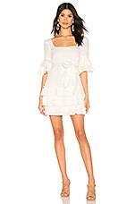 MAJORELLE Olin Dress in White