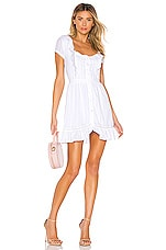 MAJORELLE Crazy For You Dress in White
