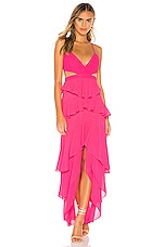 MAJORELLE Josephine Gown in Pink