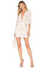 MAJORELLE Beckett Dress in Tropical Tan