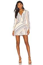 MAJORELLE Miranda Mini Dress in Stripe Multi