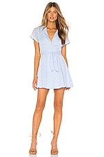 MAJORELLE Tumbleweed Dress in Baby Blue