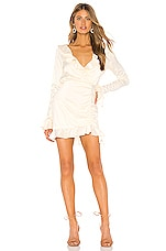 MAJORELLE Nelly Mini Dress in Ivory