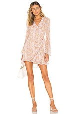 MAJORELLE Jayla Mini Dress in Snake Multi