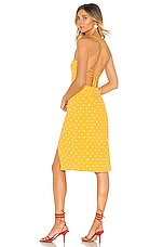 MAJORELLE Mila Dress in Tuscany Yellow