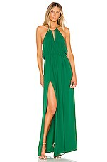 MAJORELLE Symphony Gown in Green