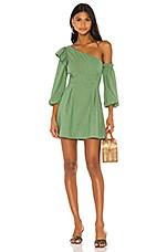MAJORELLE Jennie Mini Dress In Green