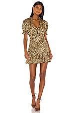 MAJORELLE Leslie Mini Dress in Cheetah