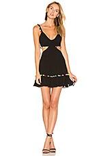 MAJORELLE Capsize Dress in Black
