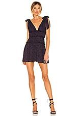 MAJORELLE Emmalyn Mini Dress in Midnight Purple