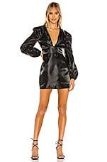 MAJORELLE Montez Mini Dress in Black