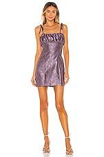 MAJORELLE Moira Mini Dress in Royale Multi