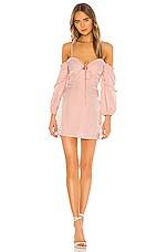 MAJORELLE Tempest Mini Dress in Pink Cloud