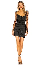 MAJORELLE Everlee Dress in Black