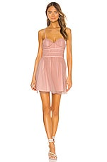 MAJORELLE Mia Dress in Pink