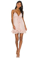 MAJORELLE Penny Dress in Sparkle Pink