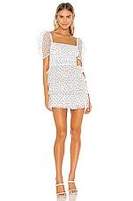 MAJORELLE Vale Dress in White