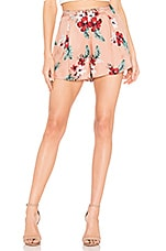 MAJORELLE Hunter Shorts in Pink Tropical